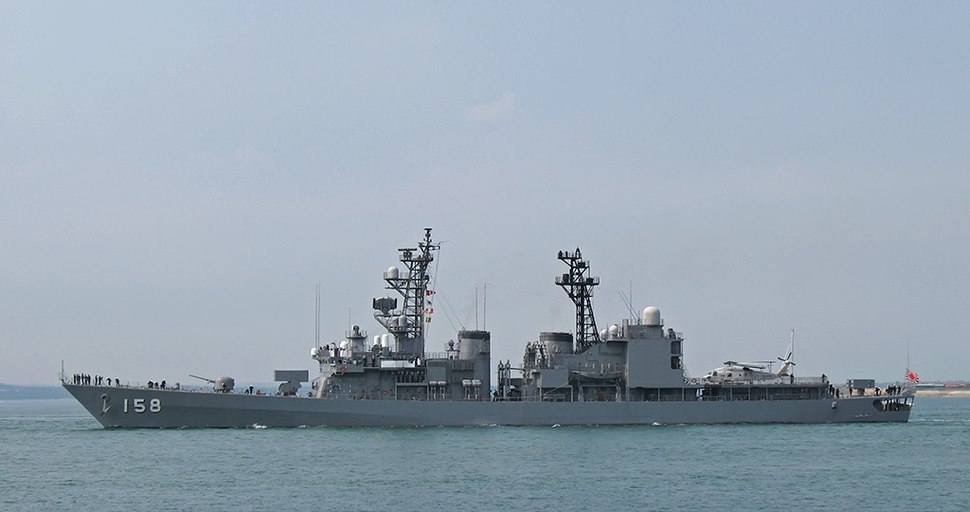 DD 158 - JDS Umigiri BB