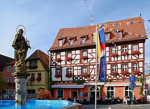 Volkach - Market square