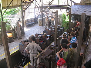 Indiana Jones et le Temple du Péril - The loading station