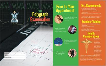 Department of Defense polygraph brochure distributed to applicants by DIA and NSA, among other intelligence components. DOD polygraph brochure.pdf
