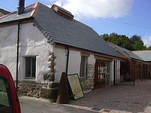 Mawnan Smith - The smithy is restored and open to the public