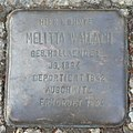 Dachau Stolperstein Wallach, Melitta.jpg