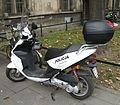 Daelim S-Five scooter in Kraków - Policja (2).jpg