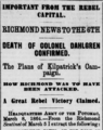 Dahlgren Raid Headline March 1864.png