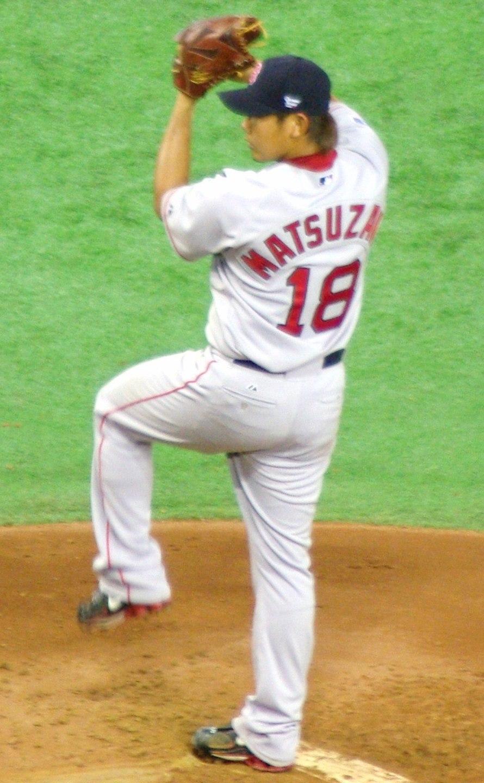 Daisuke Matsuzaka on March 25, 2008