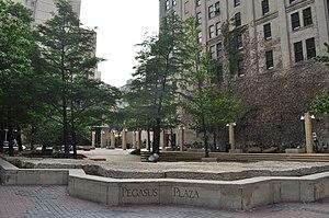 Pegasus Plaza - Image: Dallas Pegasus Plaza 01