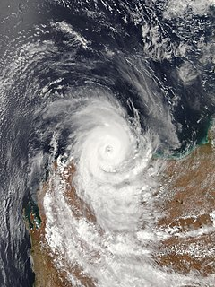 Cyclone Damien Category 2 Cyclone in 2020
