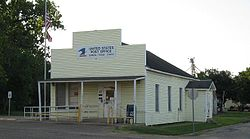 US Post Office in Damon, Texas