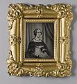 Damporträtt. Porträtt av drottning Josefina i trekvartsprofil utfört av J W Bergström - Nordiska Museet - NMA.0051827 1.jpg