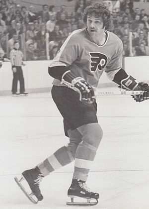 Philadelphia Flyers - Enforcer Dave Schultz, the most notorious Broad Street Bully, set the NHL record for most penalty minutes in a single season during the 1974–75 season.