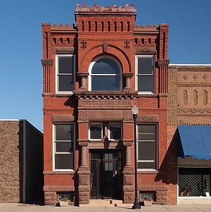 National Register of Historic Places listings in Lac qui Parle County, Minnesota - Image: Dawson Commercial Bank Building