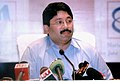 Dayanidhi Maran addressing the media after at an interactive session 'The Indian Jute Industry-Present and Future' with Jute Sector Representatives (Large & Medium), in Kolkata on October 07, 2009.jpg