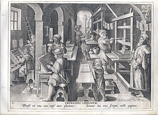 The invention of book printing