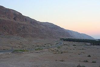 Highway 90 (Israel) - Image: Dead Sea 04