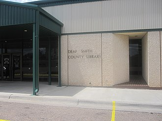 Deaf Smith County, Texas - Image: Deaf Smith County Library, Hereford, TX IMG 4892