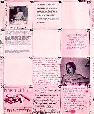 Feminist art - Image: Debretteville Pink