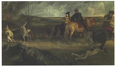 Degas - Mittelalterliche Kampfszene.jpg