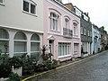 Delightful cottages in Montagu Mews West - geograph.org.uk - 1048019.jpg