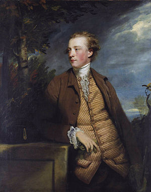 Ó Dálaigh - Denis Daly of Dunsandle, MP for Galway. A portrait by Joshua Reynolds. The name Denis was used as an anglicised approximation of Donnchadh