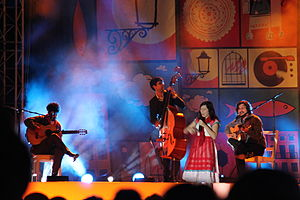 Deolinda - Deolinda live in Monchique