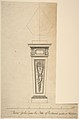 Design for a Pedestal, for Richmond House, Whitehall, London MET DP800999.jpg
