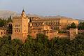 Detail Charles V palace Alhambra Granada Spain.jpg