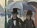 Detail Gustave Caillebotte - Paris Street; Rainy Day - Google Art Project.jpg