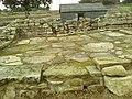 Detail from roman fort of Vindolanda 22.jpg
