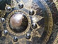 Detail of Bronze Gong - Wat Phra That Doi Suthep - Outside Chiang Mai - Thailand (34768643990).jpg