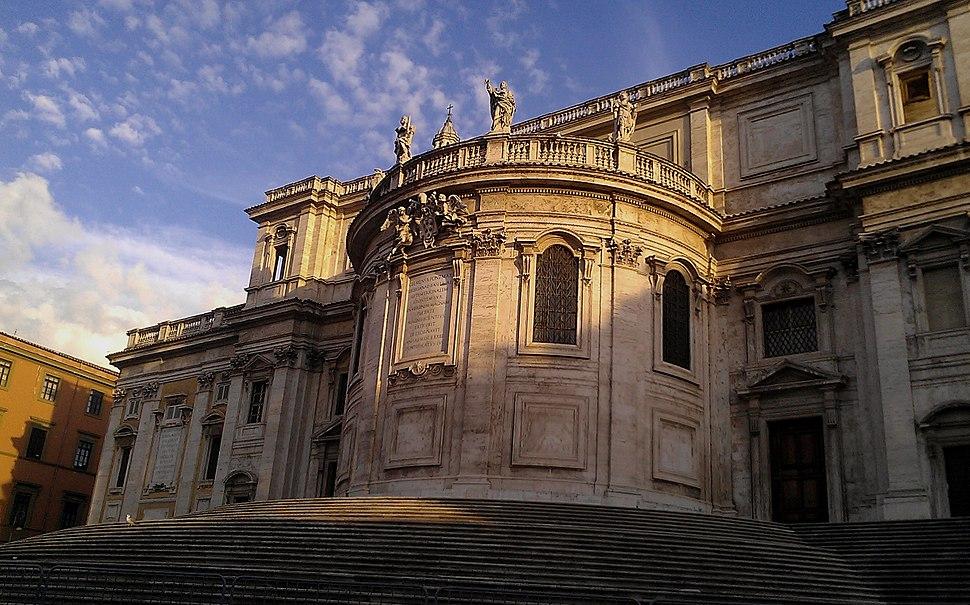 Detail of the Basilica di Santa Maria Maggiore