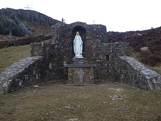 Devil's Bit - Statue of the Virgin Mary