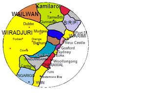 Tharawal language language