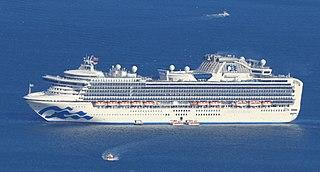 <i>Diamond Princess</i> (ship) Cruise ship