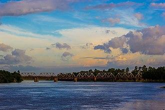 Dinajpur District, Bangladesh - Dinajpur Railway Bridge, Punorvoba River
