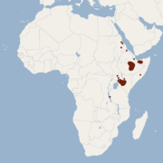Distribution of Lophiomys imhausi.png