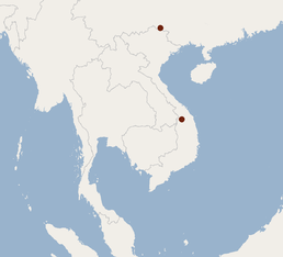 Distribution of Murina lorelieae.png