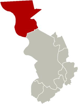 Berendrecht-Zandvliet-Lillo - Image: District Berendrecht Zandvliet Lillo Location