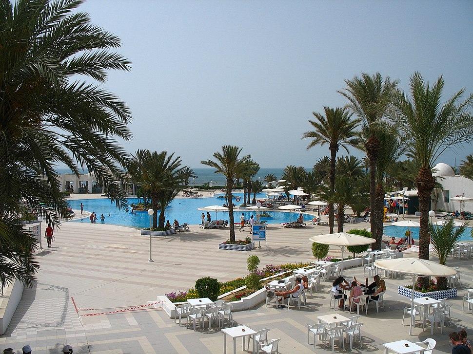Djerba el mouradi menzel hotel pool-1