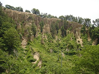 Awa, Tokushima - Image: Dochū Kōtsu Prefectural Natural Park 土柱高越県立自然公園