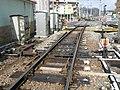 Dojo-Minamiguchi Station Derailment-switch.jpg