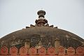 Dome - Front View - Qila-e-Kuhna Masjid - Old Fort - New Delhi 2014-05-13 2897.JPG