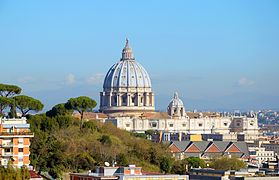 Dome of St. Peter view from Via San Lucio.jpg
