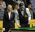 Dominic Dale and Maike Kesseler at Snooker German Masters (DerHexer) 2013-01-30 02.jpg