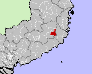 Đơn Dương District District in Central Highlands, Vietnam