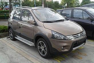 Dongfeng Fengxing Jingyi X5 - Image: Dongfeng Fengxing Jingyi SUV 01 China 2012 06 02