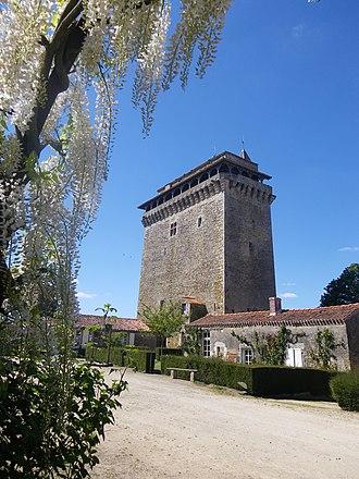 Bazoges-en-Pareds - The keep in Bazoges-en-Pareds