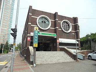 Dorimcheon station - Image: Dorimcheon Stn. Exit 1