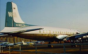 Namibia Commercial Aviation - V5-NCF at Eros Airport in 1995
