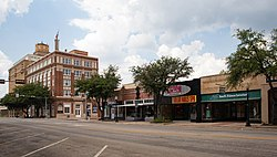 Downtown Eastland, Texas