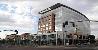 Mill Avenue/Third Street station light rail station in Tempe, Arizona
